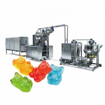 Full Automatic Jelly Candy Production Line Sweet Bear Gummy Candy Making Machines
