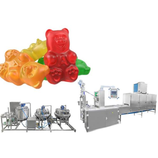 Pectin Gummy Candy Making Machine Production Line With Filling Gummy Bear Machine and Jelly Snack Machines