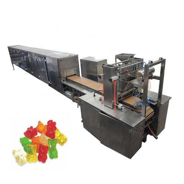 Pectin Jelly Gummy Bear Candy Maker Small Jelly Candy Depositing Machine Candy Making Hot Product 2019 Wooden Case Motor 5000KG