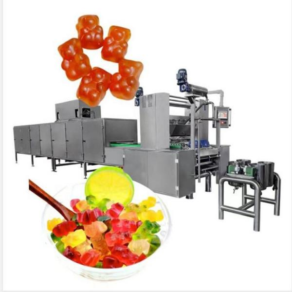 Small Capacity Automatic Lollipop Production Line Hard Candy Making Machine