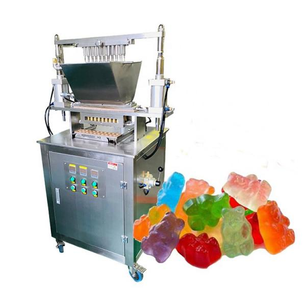 Conveyor Bucket Vertical Bag Packing Machine for Bean Sprout Gummy Candy